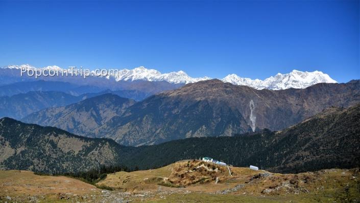 Himalayas from Tungnath