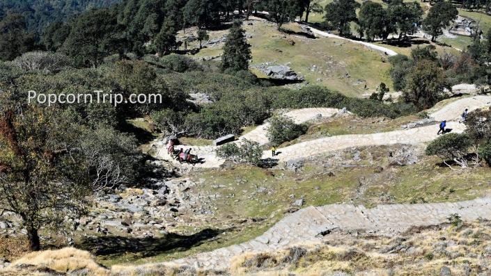 Tungnath trekking route