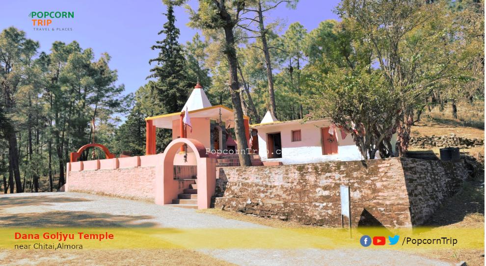 Dana Goljyu Temple, near Chitai, Almora